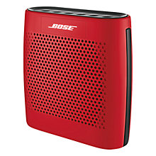 Buy Bose® SoundLink® Colour Bluetooth Speaker, Red with FREE Colour Case Online at johnlewis.com