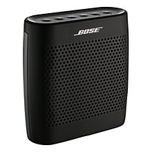 Buy Bose® SoundLink® Colour Bluetooth Speaker, Black with FREE Colour Case Online at johnlewis.com