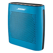 Buy Bose® SoundLink® Colour Bluetooth Speaker, Blue with FREE Colour Case Online at johnlewis.com