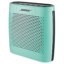 Buy Bose® SoundLink® Colour Bluetooth Speaker, Mint with FREE Colour Case Online at johnlewis.com