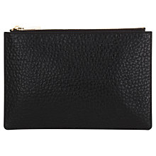 Buy Whistles Small Bubble Clutch Bag, Black Online at johnlewis.com