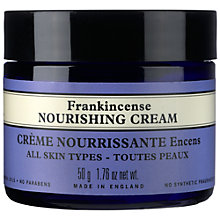 Buy Neal's Yard Fankincense Nourishing Cream, 50g Online at johnlewis.com