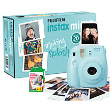 Buy Fujifilm Instax Mini 8 Camera with 20 Shots Online at johnlewis.com