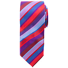 Buy John Lewis Bold Stripe Tie, Multi Online at johnlewis.com