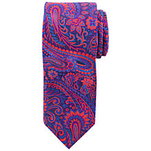 Buy John Lewis Bold Paisley Silk Tie, Multi Online at johnlewis.com