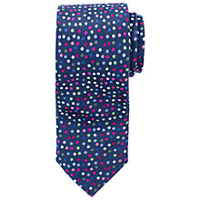Buy John Lewis Party Dot Print Silk Tie Online at johnlewis.com