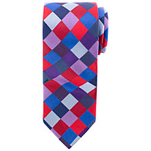 Buy John Lewis Large Diamond Tie, Multi Online at johnlewis.com