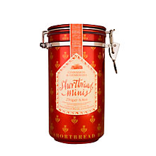 Buy Shortbread House of Edinburgh Cinnamon and Demerara Canister, 250g Online at johnlewis.com