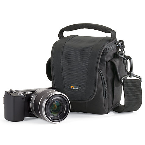 Buy Lowepro Edit 100 Camera Shoulder Bag, Black Online at johnlewis.com