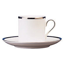 Buy Vera Wang Sterling Coffee Cup and Saucer Set Online at johnlewis.com