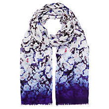 Buy Kaliko Graduated Haze Scarf, Purple/Multi Online at johnlewis.com