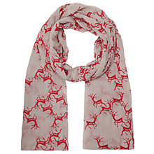 Buy Becksondergaard Elvie Print Scarf, Pink Online at johnlewis.com