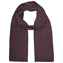 Buy Becksondergaard Slim Dot Silk Scarf, Grey Online at johnlewis.com