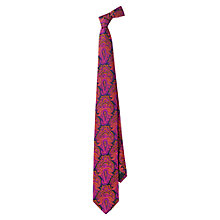 Buy Duchamp Paisley Print Silk Tie Online at johnlewis.com