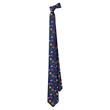 Buy Duchamp Rose Garden Floral Silk Tie Online at johnlewis.com