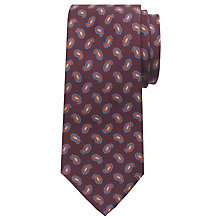 Buy JOHN LEWIS & Co. Saunders Paisley Print Tie Online at johnlewis.com