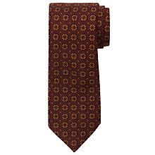 Buy JOHN LEWIS & Co. Wyman Circle Print Tie Online at johnlewis.com