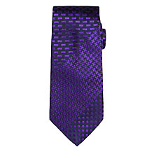 Buy Duchamp Multi Pattern Tie, Purple Online at johnlewis.com