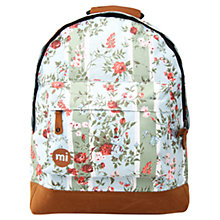 Buy Mi-Pac Rose Print Backpack, Multi Online at johnlewis.com