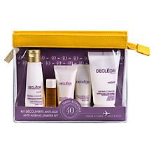 Buy Decléor Anti-Aging Try Me Skincare Kit Online at johnlewis.com