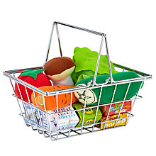 Buy John Lewis Toy Groceries & Shopping Basket Online at johnlewis.com