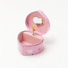 Buy John Lewis Princess, Horse & Hearts Jewellery Box Online at johnlewis.com