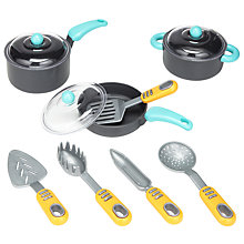 Buy John Lewis Toy Pots & Pans Set Online at johnlewis.com
