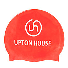 Buy Upton House School Swimming Cap, Red Online at johnlewis.com