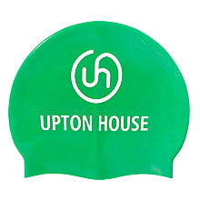 Buy Upton House School Swimming Cap, Green Online at johnlewis.com