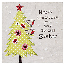 Buy Blue Eyed Sun Sister Christmas Card Online at johnlewis.com