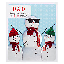 Buy Paperlink Dad Christmas Christmas Card Online at johnlewis.com
