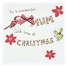 Buy Saffron Gift and Cards Mum Love Christmas Card Online at johnlewis.com