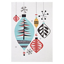 Buy Art Press Happy Holidays Christmas Card Online at johnlewis.com