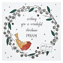 Buy Belly Button Crimble Crulee Christmas Card Online at johnlewis.com