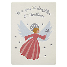 Buy Retropress Angel Daughter Christmas Card Online at johnlewis.com