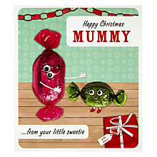 Buy Paperlink Mummy Christmas Card Online at johnlewis.com