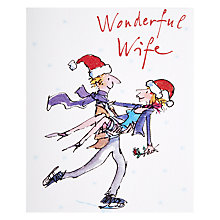Buy Quent Whisked Away Christmas Card Online at johnlewis.com