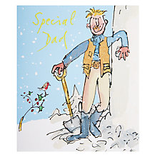 Buy Quent Snowy Christmas Card Online at johnlewis.com