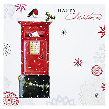 Buy Hammond Gower Red Postbox Christmas Card Online at johnlewis.com
