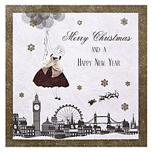 Buy Stardust Christmas Happy Balloons Christmas Card Online at johnlewis.com
