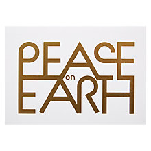 Buy Lagom Designs Peace of Earth Christmas Card Online at johnlewis.com