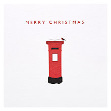 Buy LoveDay Designs Merry Christmas Postbox Christmas Card Online at johnlewis.com