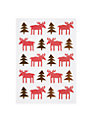 Lagom Designs Moose Christmas Card