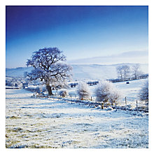 Buy English Heritage Snow Landscape Christmas Card Online at johnlewis.com