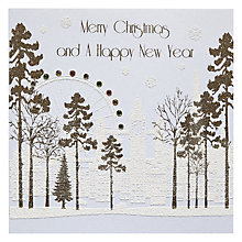 Buy Snowmoon Forest Christmas London Christmas Card Online at johnlewis.com