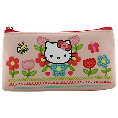 Hello Kitty Home Sweet Home Pencil Case, Pink/Multi