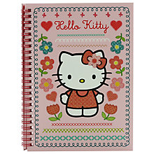 Buy Hello Kitty Home Sweet Home A5 Notebook, Pink/Multi Online at johnlewis.com