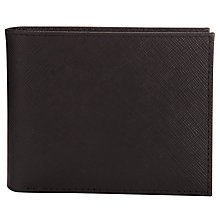 Buy Fossil Caleb Bifold Wallet, Black Online at johnlewis.com