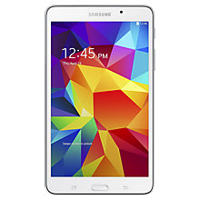 "Buy Samsung Galaxy Tab 4 7.0 Tablet, Quad-core Marvell PXA, Android, 7"", Wi-Fi, 8GB Online at johnlewis.com"