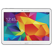 "Buy Samsung Galaxy Tab 4 10.1 Tablet, Qualcomm Snapdragon, Android, 10.1"", Wi-Fi, 16GB Online at johnlewis.com"